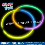 3 Colors Glow Stick Necklace 22-Inch Glow Stick for Party