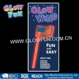 Glow Fly National Flag Wand for USA National's Day, Glow Stick Holiday Decoration