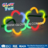 Multi Color Glow Sticks Shamrock Shaped Glasses Light Party Holiday